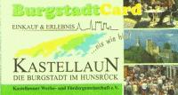 Burgstadtcard Bonuskarte Stadt Kastellaun Hunsrueck